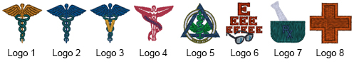 Logos and Emblems for Embroidery