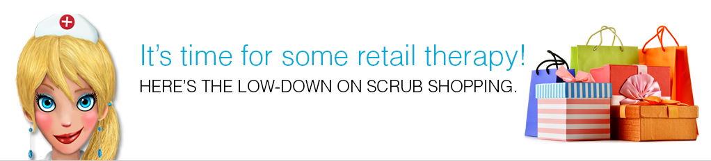 Sassy Sue Scrub Shopping Tips | Follow Sassy Sue on Facebook