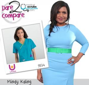 Bold And Beautiful Mindy Kaling Medical Scrubs Collection