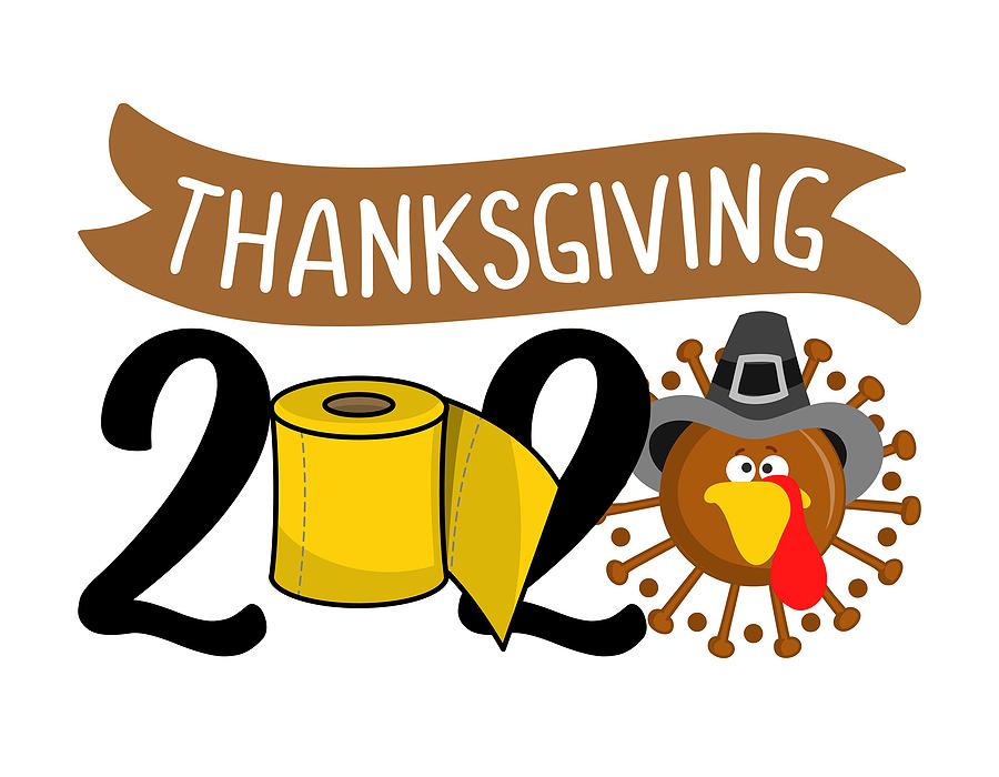 Thanksgiving 2020 Quarantine Face Mask Turkey Cute Coronavirus A