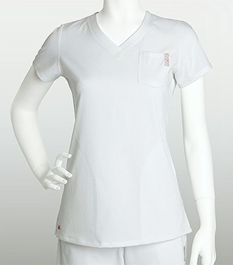 NRG by Barco 3 Pocket V-neck Top 3102