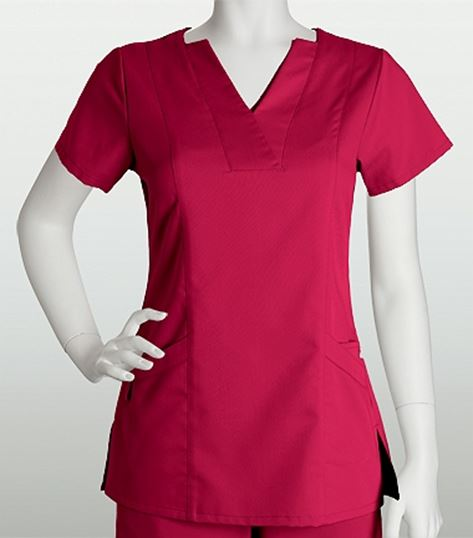 Grey's Anatomy 3 Pocket Mock Inset PDA Pocket Top 41339