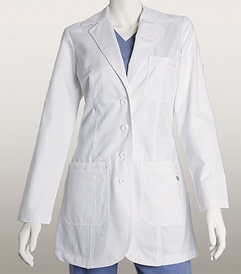 Grey's Anatomy 32 Inch  3 Pocket Lab Coat With Embroidery 4425