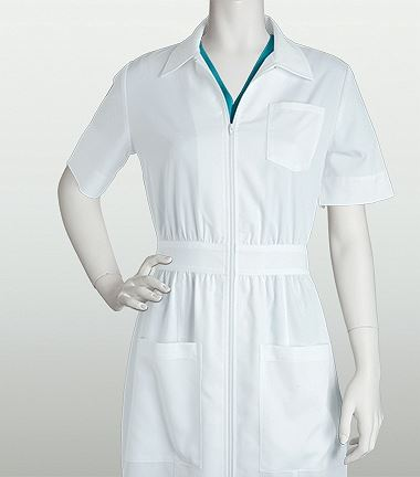 Grey's Anatomy 38 Inch Zip Front 3 Pocket Dress 4801