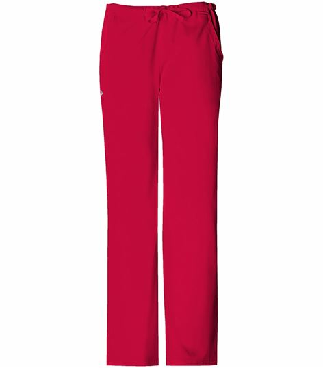 Cherokee Luxe Women's Low Rise Straight Leg Scrub Pants-1066