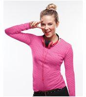 HeartSoul Long Sleeve Printed Underscrub Knit Tee-20801