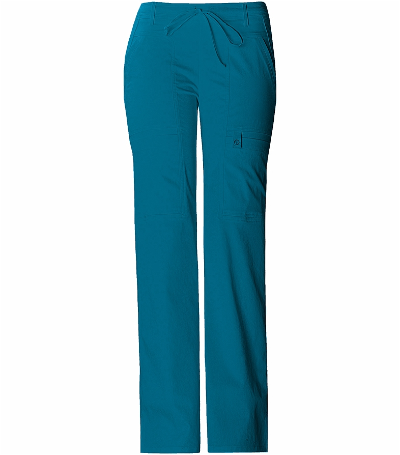 29646edf86a Cherokee Luxe Women's Low Rise Flare Leg Cargo Scrub Pants-21100 | Medical  Scrubs Collection