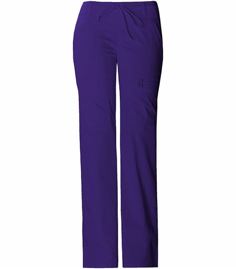 Cherokee Luxe Women's Low Rise Flare Leg Cargo Scrub Pants-21100