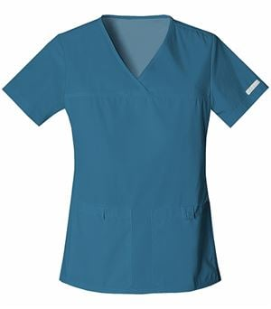 Cherokee Flexibles Women's V-Neck Solid Scrub Top-2968
