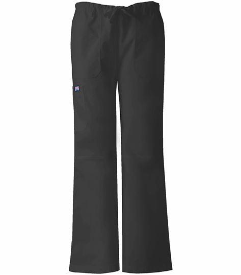 Cherokee WorkWear Women's Straight Leg Cargo Scrub Pants-4020