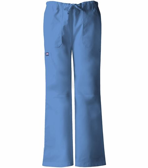 Cherokee WorkWear Women's Straight Leg Cargo Scrub Pants-4020