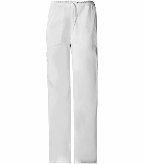Cherokee WorkWear Stretch Unisex Drawstring Cargo Scrub Pants-4043