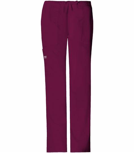 Cherokee WorkWear Core Stretch Women's Drawstring Scrub Pants-4044