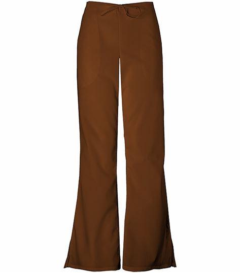 Cherokee WorkWear Women's Drawstring Flare Leg Scrub Pants-4101