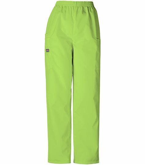 Cherokee WorkWear Originals Women's Elastic Pull On Cargo Scrub Pants-4200