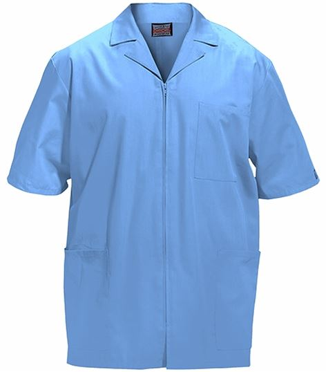 Cherokee WorkWear Men's Short Sleeves Medical Scrub Jacket-4300