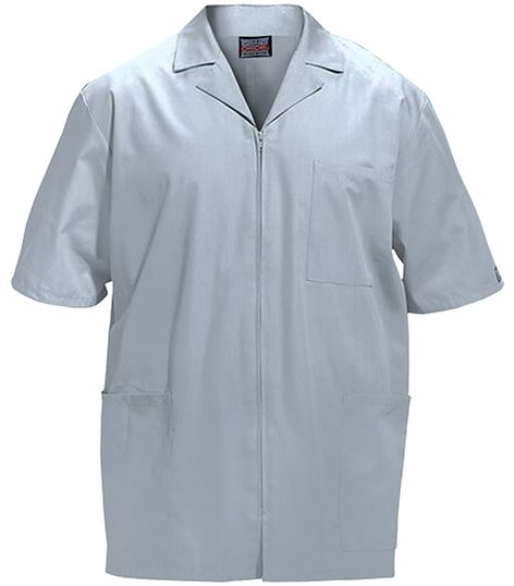 Cherokee WorkWear Men's Short Sleeves Medical Scrub Jacket-4300