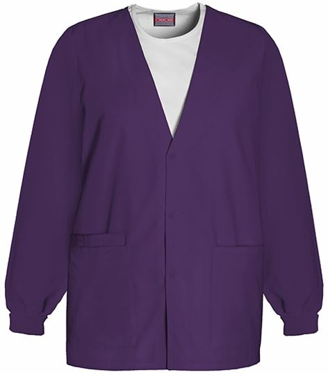 Cherokee WorkWear Women's Cardigan Warm-Up Scrub Jacket-4301
