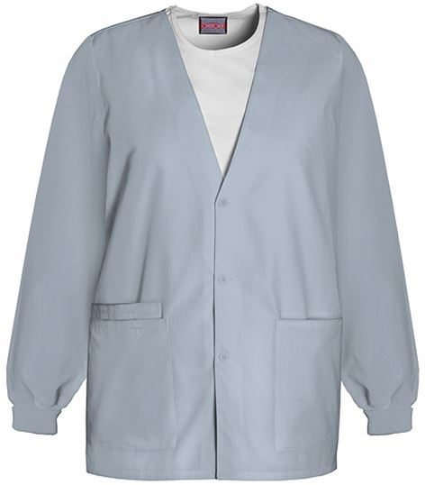 Cherokee WorkWear Women's Cardigan Warm-Up Scrub Jacket-4301
