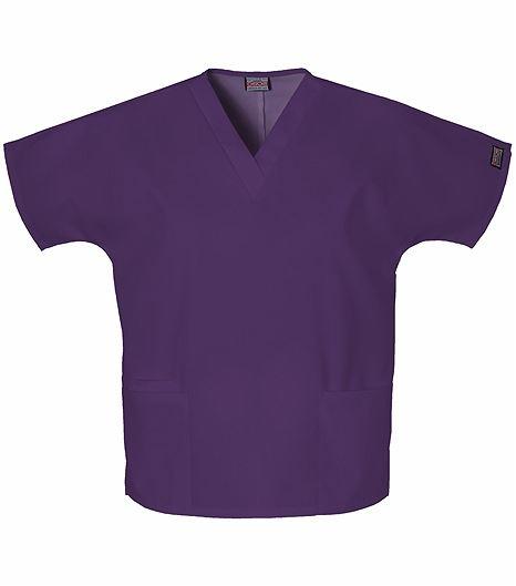 Cherokee WorkWear Women's V-Neck Solid Scrub Top-4700