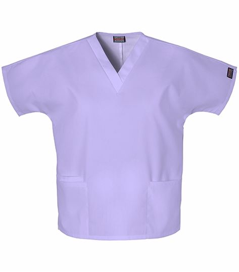 Cherokee WorkWear Women's V-Neck Solid Scrub Top-4700