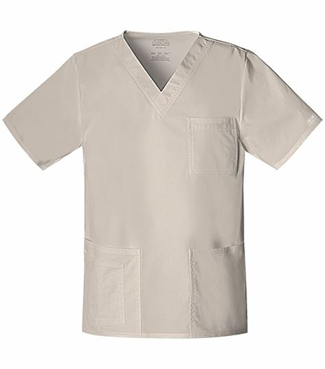 Cherokee WorkWear Core Stretch Unisex V-Neck Scrub Top-4725