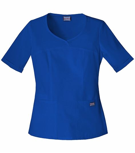 Cherokee WorkWear V-neck Top 4746