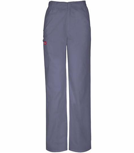 Dickies Men's Elastic Waist Drawstring Cargo Scrub Pants-81100