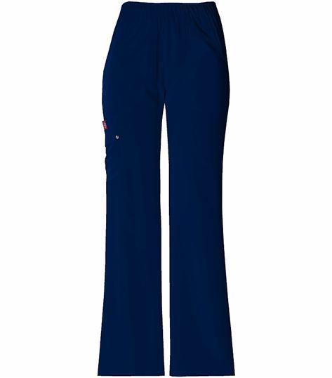 Dickies Xtreme Stretch Women's Elastic Waist Cargo Scrub Pants-82012
