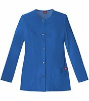 Dickies GenFlex Women's Snap Front Warm-Up Scrub Jacket-82409