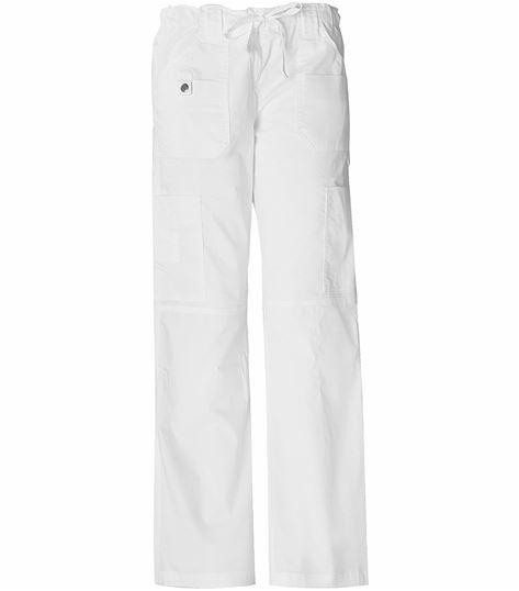 Dickies GenFlex Women's Elastic Waist Cargo Scrub Pants-857455