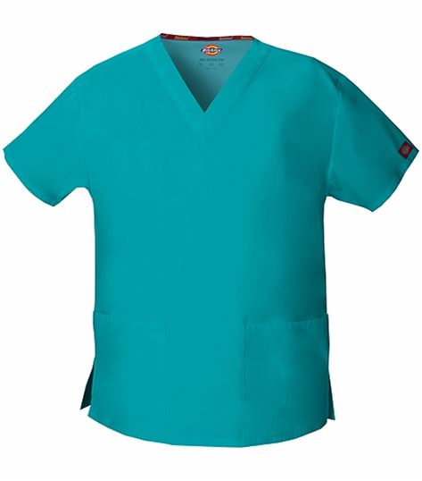 Dickies EDS Signature Women's V-Neck Solid Scrub Top-86706