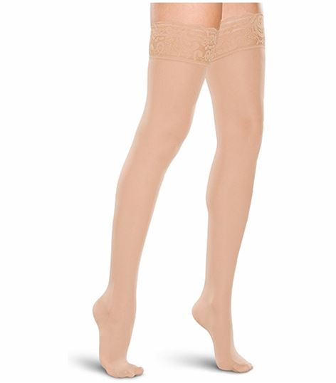 Cherokee Hosiery 20-30 Hg Lace Top Thigh Highs TF711