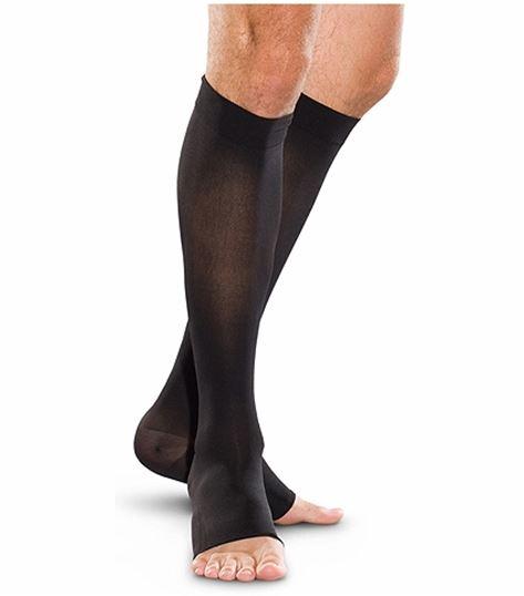 Cherokee Hosiery 30-40 Hg Open Toe Knee Highs TF765