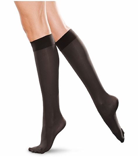 Cherokee Hosiery 30-40 Hg Closed Toe Knee Highs TF766