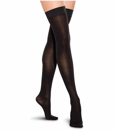 Cherokee Hosiery 30-40 Hg Closed Toe Thigh Highs TF767