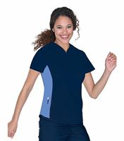 Urbane Women's Athletic Stretch Scrub Top Tunic-9557