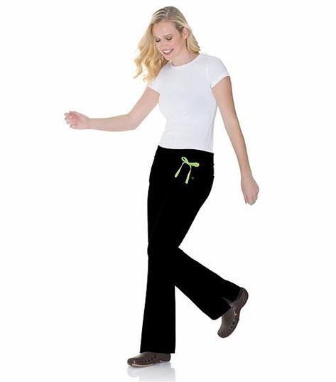 Urbane Women's Flare Leg Yoga Scrub Pants-9301