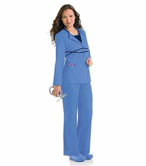Urbane Infinity Women's Warm-Up Scrub Jacket-9571