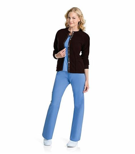 Urbane Women's Fleece Scrub Jacket-9706