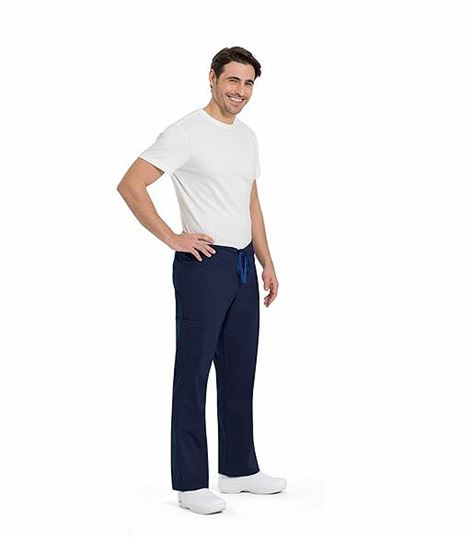 WorkFlow by Landau Unisex Straight Leg Cargo Scrub Pants-2021