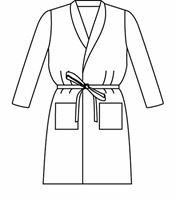 Landau Unisex Patient Robe 9020