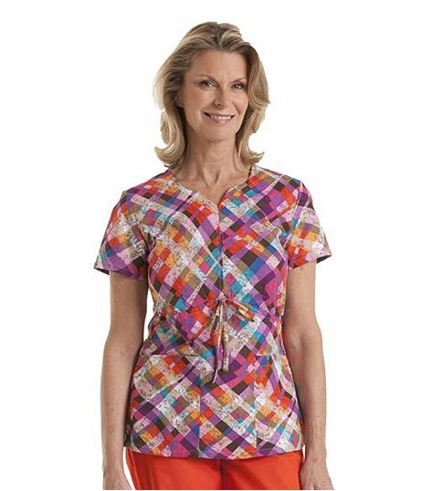 Landau Notched Neck Tunic 8143