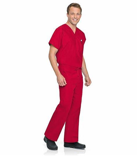 Landau Unisex Straight Leg Drawstring Scrub Pants-7602