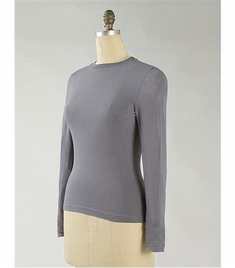 Landau Women's Basic Underscrub Knit Tee-50001