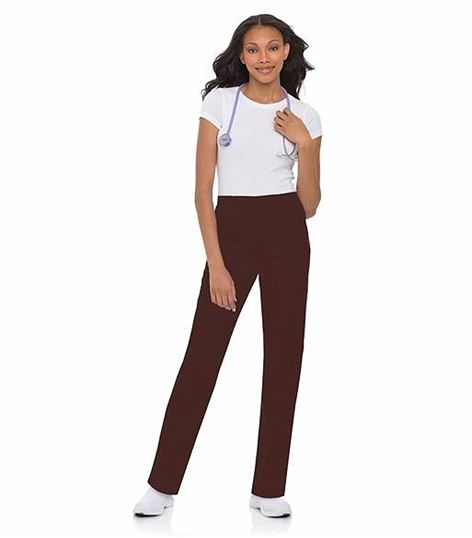 Landau Women's Classic Fit Tapered Leg Scrub Pants-8320