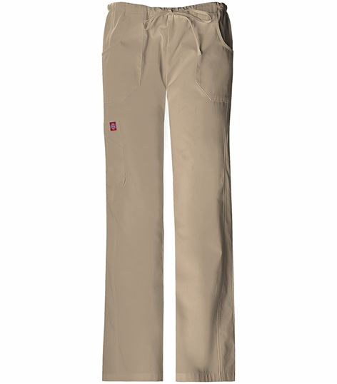 Soft Works Mid Rise Drawstring Cargo Pant 82009