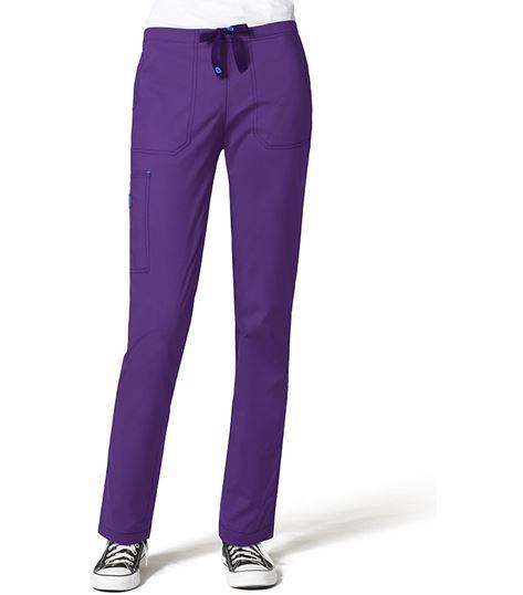 WonderWink WonderFLEX Women's Slim Fit Cargo Scrub Pants-5408