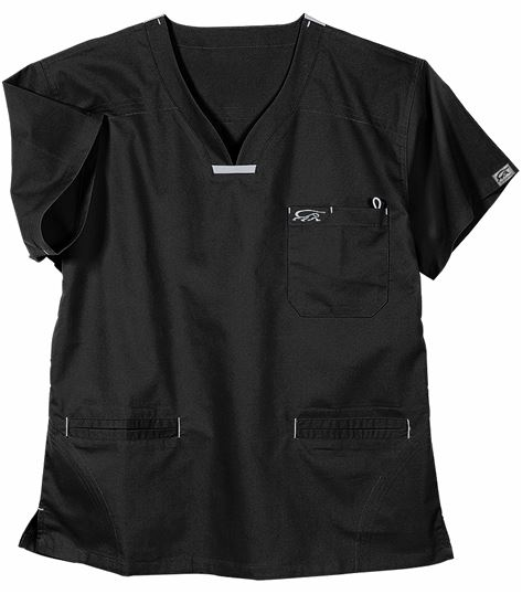 IguanaMed Women's MedFlex II Quattro V-Neck Scrub Top-5600