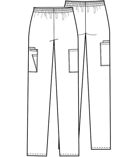Cherokee Elastic Waist Pant 2108